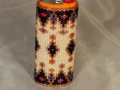 beaded lighter cover by oma112 on Etsy, $30.00
