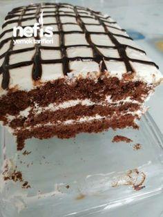 Soft very easy pastry, Chocolate Spread, Chocolate Cake, Tiramisu, Pastry Cake, Iftar, Easy Cake Recipes, Ice Cream Recipes, Chocolate Recipes, Food And Drink