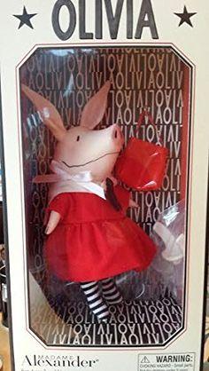 Olivia the Pig Doll Madame Alexander 2002. #Olivia #Doll #Madame #Alexander