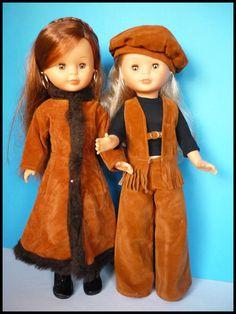 Fabricado por Famosa, Onil (Alicante)  Ref: 31  Año: 1979    Este precioso abrigo yo no lo recordaba de mi infancia pero cuando lo vi hace...