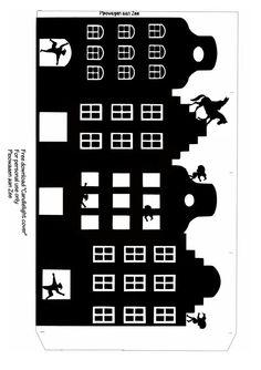 Pipowagen aan Zee: Tealight cover *Sinterklaas Lichtje*: