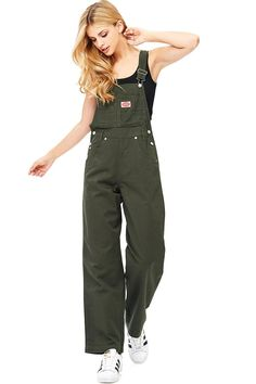 online shopping for Revolt Women's Juniors Baggy Straight Leg Twill Overalls from top store. See new offer for Revolt Women's Juniors Baggy Straight Leg Twill Overalls Dungarees Outfits, Work Overalls, Bib Overalls, Overalls Fashion, Jeans Jumpsuit, Shorts, Salopette Jeans, Plus Size Vintage, Retro Outfits
