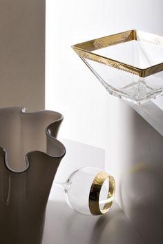 B Gold • Art de la Table - Blumarine Home Collection