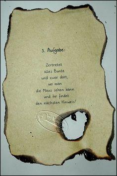 29 best Schnitzeljagd / Schatzsuche images on Pinterest | Happy b ...