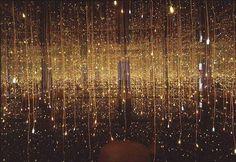 Fireflies On The Water by Yayoi Kusama, 2002