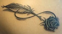infinity feather tattoo - Google Search