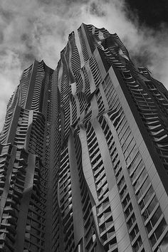 8 Spruce St by Frank Gehry #Architecture #Frank_Gehry #NYC