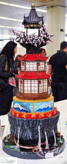 Japanese wedding cake - Cake by Crazy Sweets