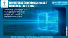 Atualização 6 do CorelDRAW Graphics Suite X7 | Novos Recursos e Funcionalidades