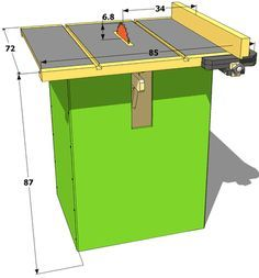 Woodworking Circular Saw Homemade table saw specifications Diy Projects Plans, Woodworking Projects Diy, Woodworking Tools, Home Made Table Saw, Diy Table Saw, Table Saw Accessories, Best Circular Saw, Homemade Tables, Wood Tools