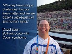 It's All About Potential: Down Syndrome Athlete and Advocate Highlights Ability Where Others See Disability #downsyndrome