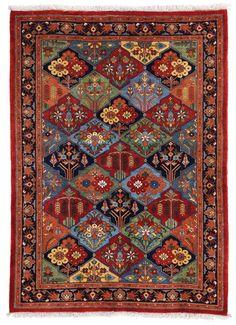 Bakhtiari- Golzar Design size: 230x162 cm