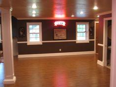 Sports bar in basement Dream Home Ideas Pinterest Sports