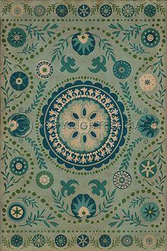 Pattern 38 Boho Blue - Vintage Vinyl by Spicher&Co.