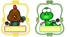 Preschool Flowers Class Name Badges Superhero Name Tags, Superhero Labels, Preschool Names, Preschool Learning Activities, Preschool Ideas, Cute Animal Names, Cute Frames, Cute Clipart, Name Stickers