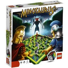 Great family game.  See who can be the first to lead the heroes to the secret temple hidden deep inside a labyrinth and avoid the mighty Minotaur.