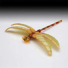 Dragonfly-detail 2002. I want to make this! I'm going to try it! This is made by Nancy Cain. Lovely beyond belief.