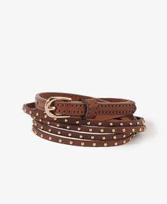 ShopStyle: Forever 21Double-Strand Studded Waist Belt