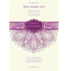 69 best wedding invitation ideas images on pinterest invitations beautiful purple invitation card vector image on vectorstock fandeluxe Image collections