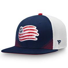 hot sale online 785c8 430c2 Men s New England Revolution Fanatics Branded Navy White Iconic Adjustable  Snapback Hat, Your Price   25.99