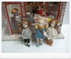 Dolls  by Sun Joo Lee
