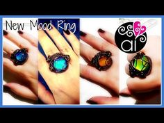 New Mood Ring | Wire Wrapping Tutorial | English Version - YouTube