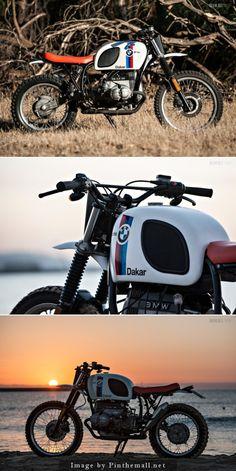 BMW R80 G/S - Paris Dakar Tribute