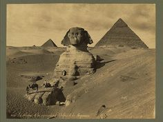 50 rare old photographs from the mid to early of The Great Pyramids and Great Sphinx of Giza. 50 More Rare Photographs of Great Pyramids & Great . Ancient Aliens, Ancient Egypt, Ancient History, Art History, Photo Print, Art Antique, Old Egypt, Pyramids Of Giza, Egyptian Art