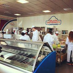 """#museo #gelato """"Ci siamo intrufolati in cucina :D"""""""