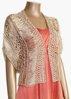 Exceptional Stitches Make a Crochet Hat Ideas. Extraordinary Stitches Make a Crochet Hat Ideas. Crochet Jacket, Crochet Blouse, Crochet Shawl, Knit Crochet, Crochet Shrugs, Crochet Sweaters, Crochet Dress Outfits, Lace Outfit, Crochet Clothes