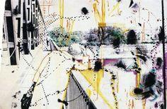 Sigmar Polke -  Polke, Ohne Titel (Oberkasseler Brücke) - 1971-83