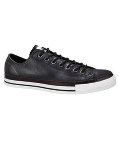 Converse Shoes, Leather Oxford Sneakers - Mens Shoes - Macy's