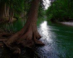Frio River at Garner State Park