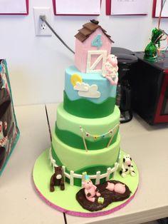 Ally's Farm cake