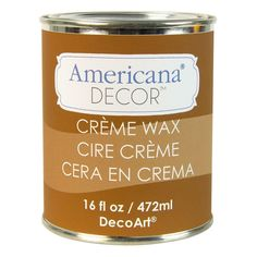 DecoArt Americana Decor 16-oz. Light Golden Creme Wax