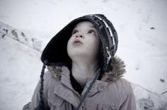 The first time I felt snow on my face.