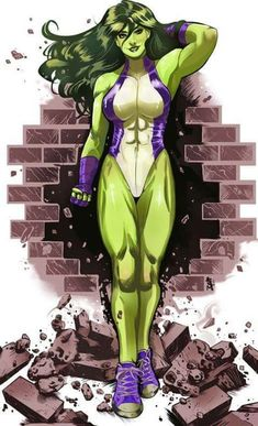 37 Hot Pictures Of She-Hulk - One Of The Hottest Marvel Characters Marvel Vs Dc Comics, Marvel Heroes, Marvel Characters, Marvel Women, Marvel Girls, Comics Girls, Marvel Universe, Marvel Moon Knight, Miss Hulk