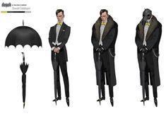 The Penguin The Penguin Batman, Penguin Gotham, Penguin Art, Batman Art, Spiderman Art, Comic Character, Character Design, Batman Telltale, Avengers