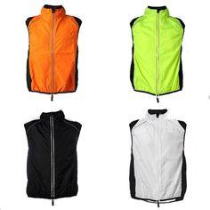 Sale 20% (9.99$) - Wolfbike Bike Cycling Bicycle Vest Sleeveless Jacket Windvest Waistcoat