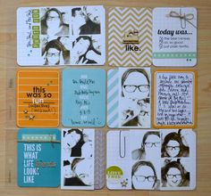 teri's place love the altered this is what life looks like card