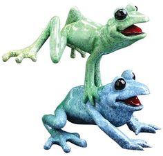 Leap Frogs Figurine