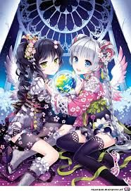 Anime art by nardack Kawaii Anime Girl, Anime Art Girl, Anime Girls, Anime Angel Girl, Kawaii Chibi, Manga Girl, Anime Style, Anime Best Friends, Wie Zeichnet Man Manga