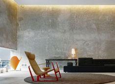 pareti in cemento levigato