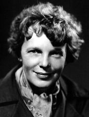 "Amelia Earhart | Aviatrix | 1897 - 1937  ""Adventure is worthwhile in itself."""