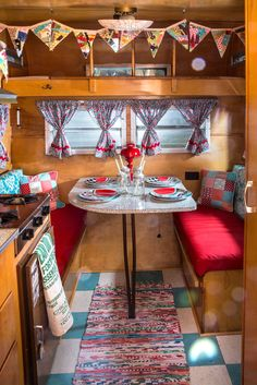 """Like tiny houses, trailers make clever use of limited space, with their propane stoves, lofted beds and mini ice boxes. """"Everything you would need if you were living in it is there,"""" Ms. Arvay said."""