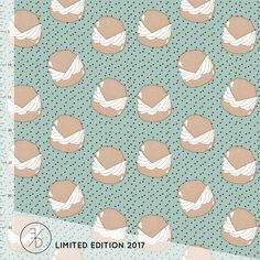 SEMLA BUN - LIMITED EDITION Abstract, Fabric, Artwork, Tejido, Tela, Work Of Art, Summary, Fabrics, Tejidos