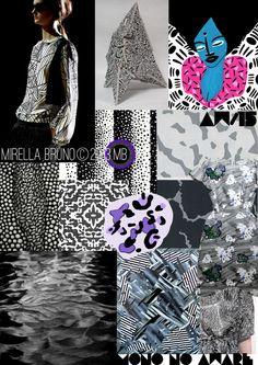 Mirella Bruno Print Design Project Direction Boards SS/2015.