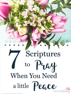 Are you searching for peace, but are still feeling anxious? God's Word promises us peace. Here are 7 scriptures for peace to pray over your life.
