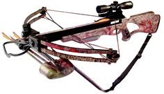 Inferno Hellfire II Precision Crossbow (Full Camo) - New for 2013, the Hellfire II is Inferno's most #versatile crossbow. This lightweight, perfectly balanced, amazingly accurate and extremely quiet #crossbow is easy to cock (185 pound draw) and shoots up to blistering 310 FPS. The Hellfire II is ideal option for both the seasoned crossbow #veteran and the new, first time #hunter looking for precision performance and quality at a price you can #afford. - $449.99