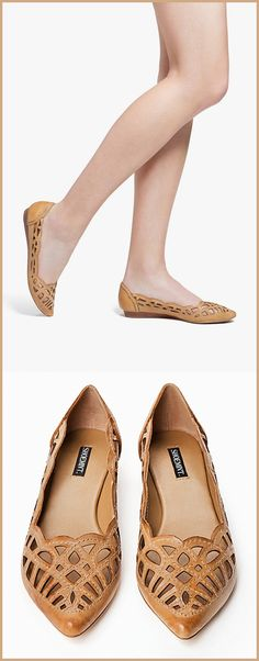 Beautiful Laser Cut Flats. These are so pretty.